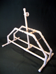 PVC catapult for science projects