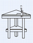 Plans for building a corner fit reloading bench