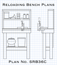 Plans for how to build a reloading bench you can conceal in a closet.