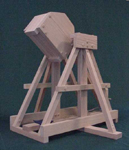 Trebuchet used at the Siege of Stirling