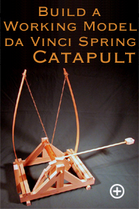 Trebuchet catapults fully assembled working model trebuchets trebuchet kits and trebuchet plans for Catapult design plans for physics